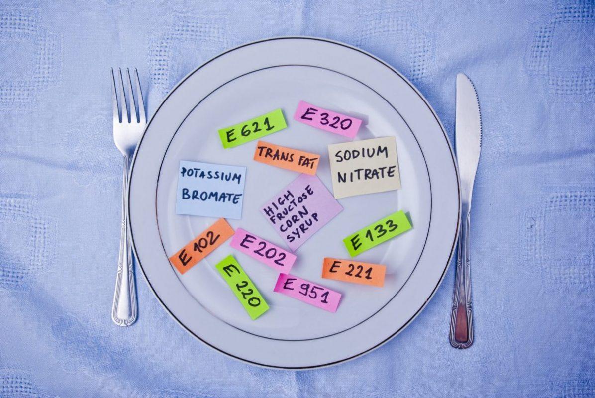 e-uri in alimentatie
