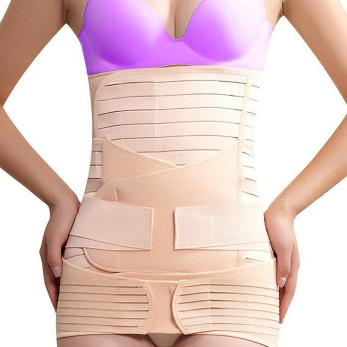 burtica dupa nastere corset