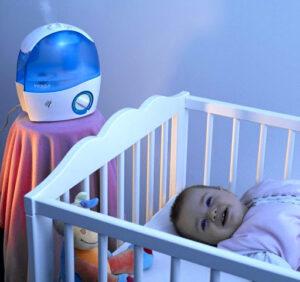 De ce este nevoie de umidificator in camera bebelusului?