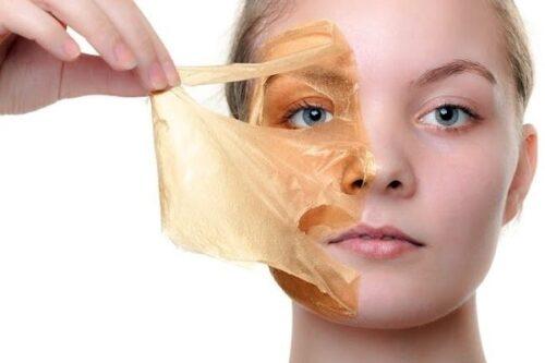 masca cu gelatina